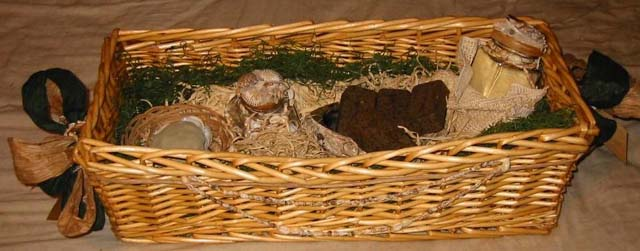basket of personal items